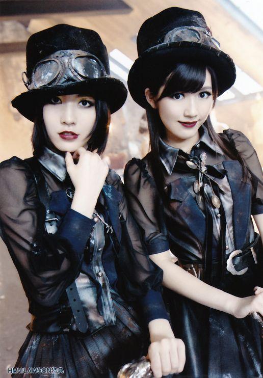 Watanabe Mayu and Matsui Jurina, is it?