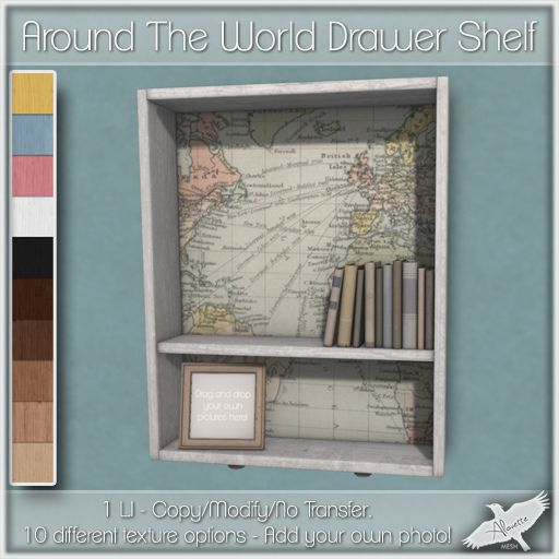 Alouette - Around The World Drawer Shelf (AD) | Flickr - Photo Sharing!