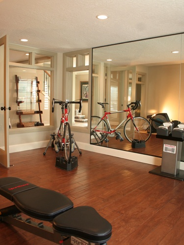 Home Gym Take That Mirror Down Dream Home Pinterest