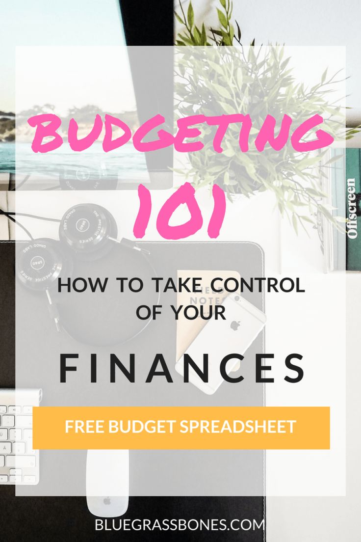 You NEED a budget! Learn the basics here! // Budgeting 101 + FREE Budget Spreadsheet