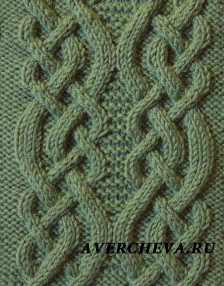 7134 - 40 stitches and 32 row repeat