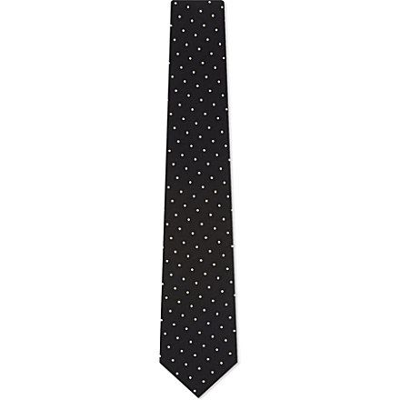 Paul Smith polka dot silk £80