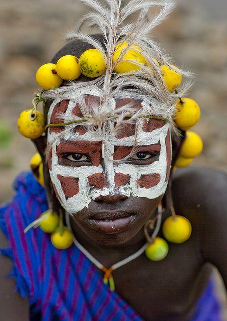 Surma tribe, Ethiopia by Eric Lafforgue