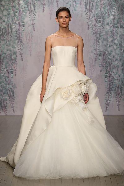 11 best MONIQUE LHUILLIER images on Pinterest | Wedding frocks ...