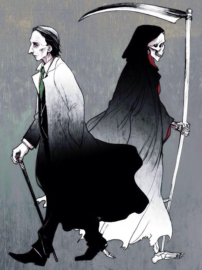 Death | Supernatural fan art
