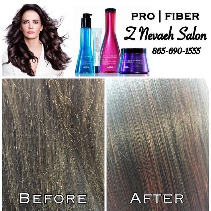 Pro|Fiber Science Repairs Hair Damage @znevaehsalon @lorealprous #profiber #knoxvillesalon #znevaehsalon