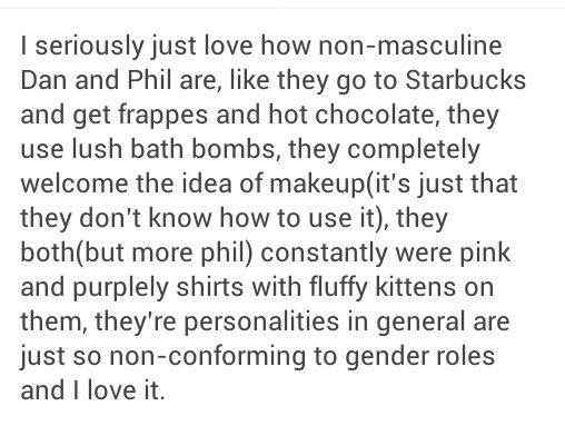 Yesss, and Dan also painted his nails and said sure he'd do it again if he could just find more nail polish <3