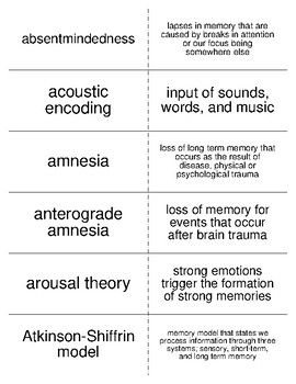 15 best psychology vocabulary flash cards images on pinterest crossword crossword puzzles and. Black Bedroom Furniture Sets. Home Design Ideas