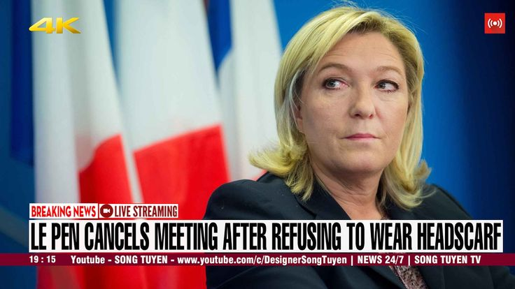 CNN BREAKING NEWS | Marine Le Pen in Lebanon row after refusing to wear ...