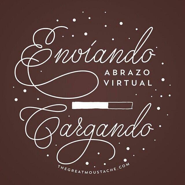 Cargando abrazo virtual