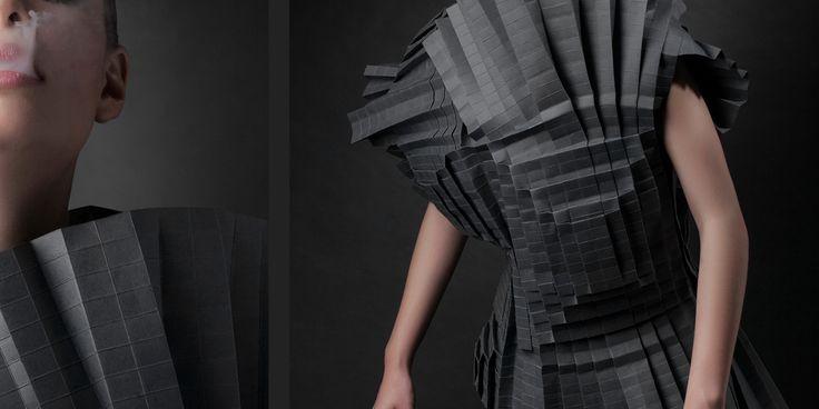 Scultura o moda? Abiti di carta di Morana Kranjec