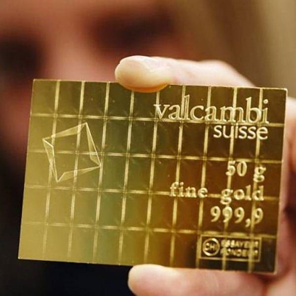 Valcambi Combibar Buy 50 Gram Gold Bars Money Metals Gold Bar I Love Gold Gold Bullion