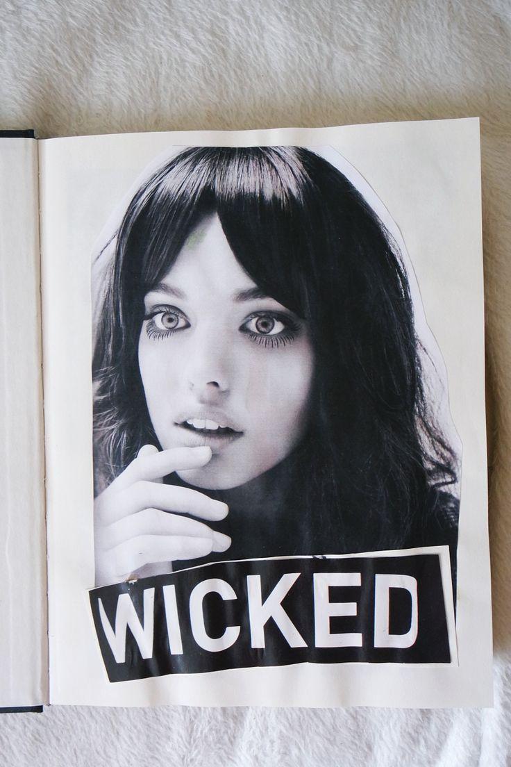 """Sketchbook """"Wicked"""""""