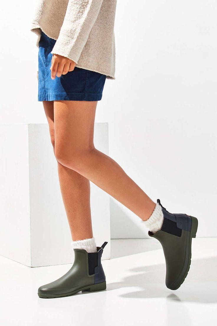 Hunter Original Refined Chelsea Rain Boot