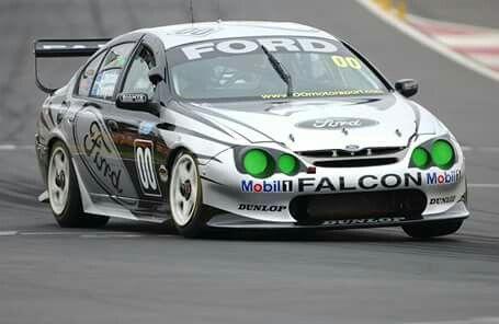 AU falcon race car