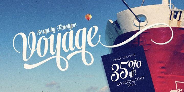 Voyage™ - Webfont & Desktop font « MyFonts