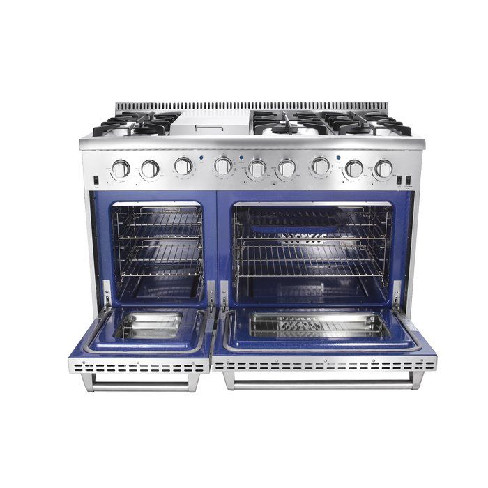 Professional 48 Freestanding Gas Range With Griddle Gas Range Gas Lowes Home Improvements