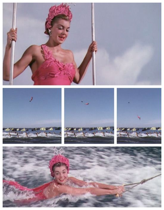 """Easy to Love"" Esther Williams in the Busby Berkeley finale"