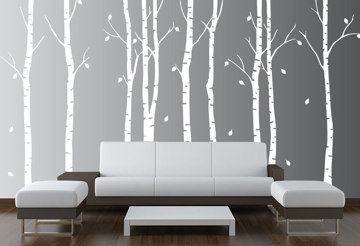 Best 25 birch tree mural ideas on pinterest for Birch tree wall mural