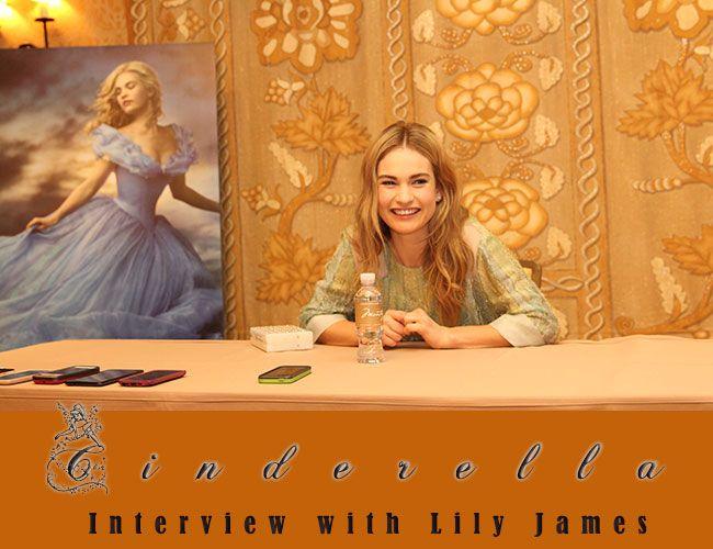 Lily James - Cinderella Interview
