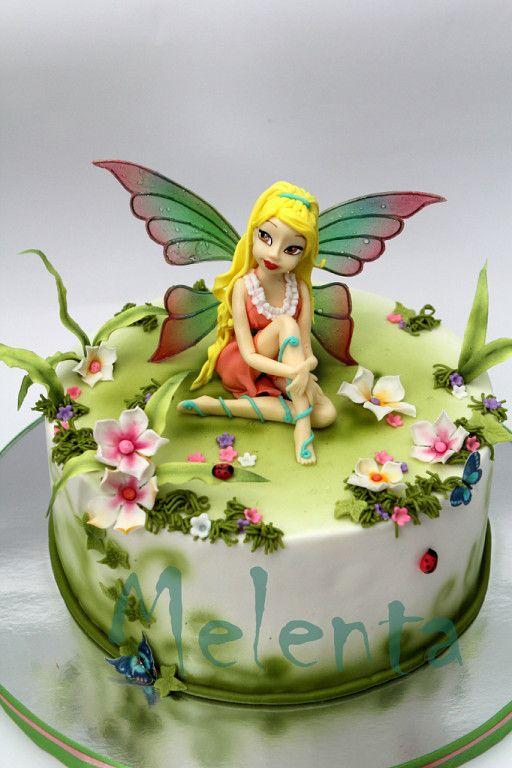Beautiful colourful fairy
