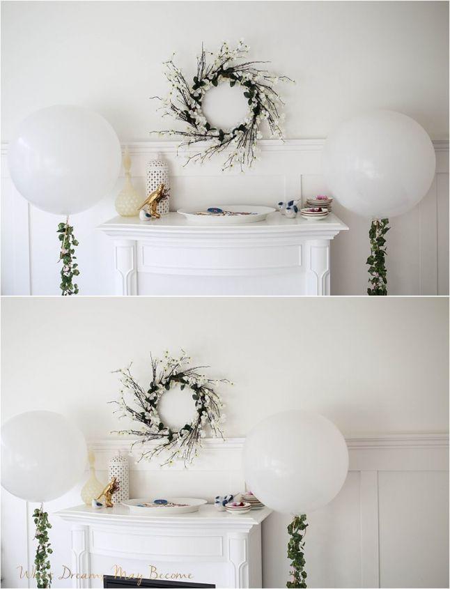 Cinderella party #Cinderella #White # floral