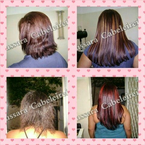 Transformaçao com mega hair, antes e depois. Contato Whatsap (21) 96447 8805