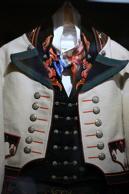 National costume (man) from Telemark county, Norway - detail
