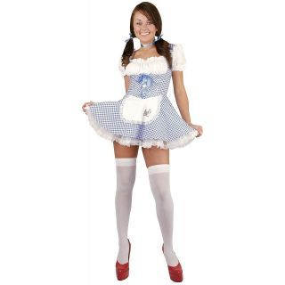 hollween costumes for preteens dorothy teen junior girls wizard of oz farm girl halloween costume - Goldilocks Halloween Costumes
