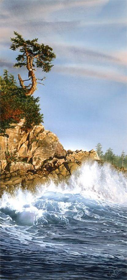 Lookout Islet, by Carol Evans