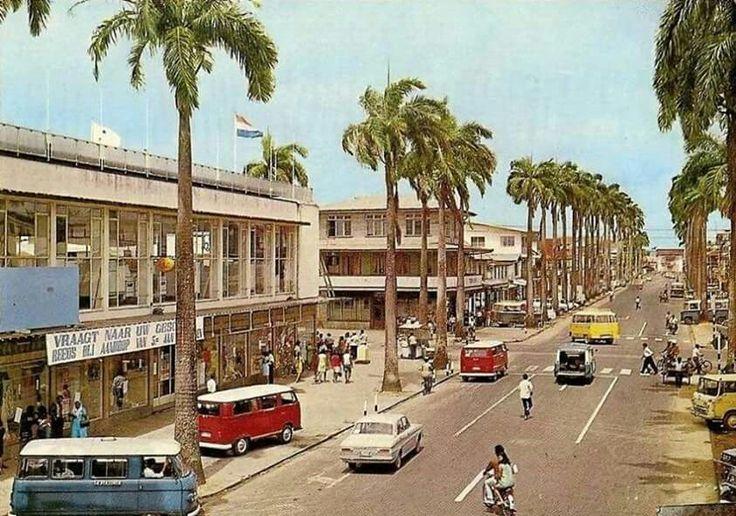 Paramaribo Maagdenstraat  (1969)