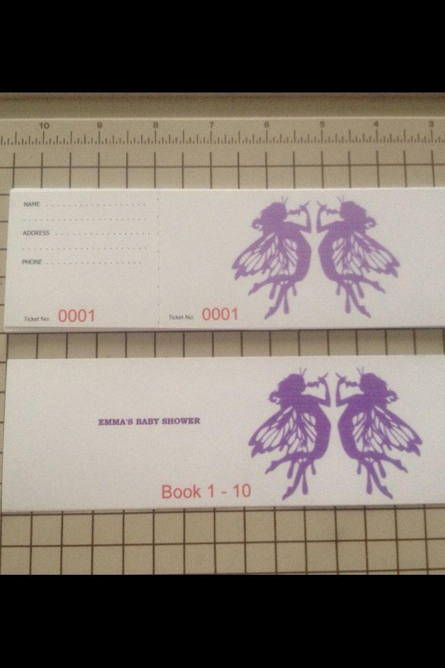 how to make raffel tickets