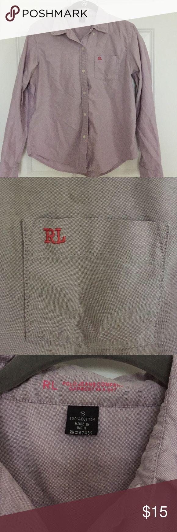 Women's Ralph Lauren button down shirt EUC women's button down shirt Ralph Lauren Tops Button Down Shirts