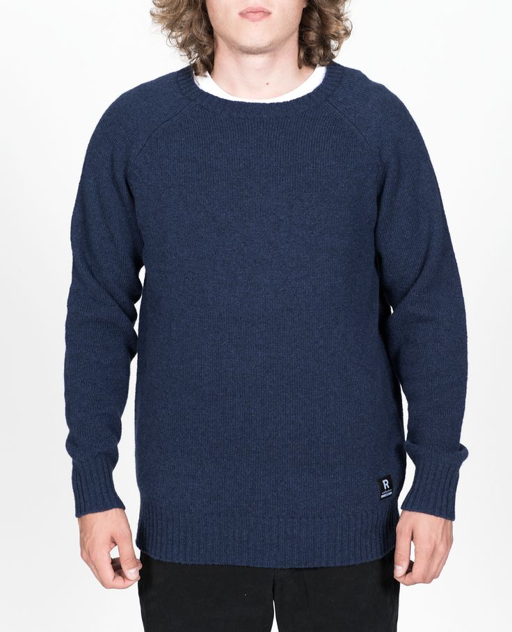 R-Collection Fisher pullover 100% shetland wool