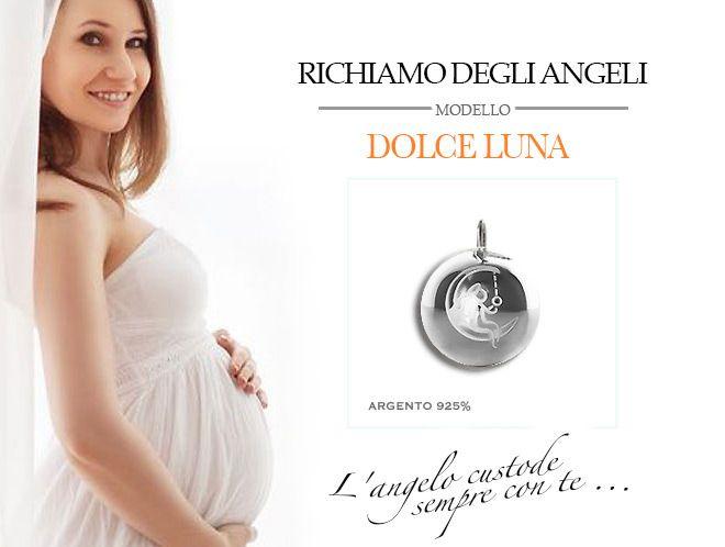 Gioiello in Argento925 da indossare nei primi mesi di gravidanza.