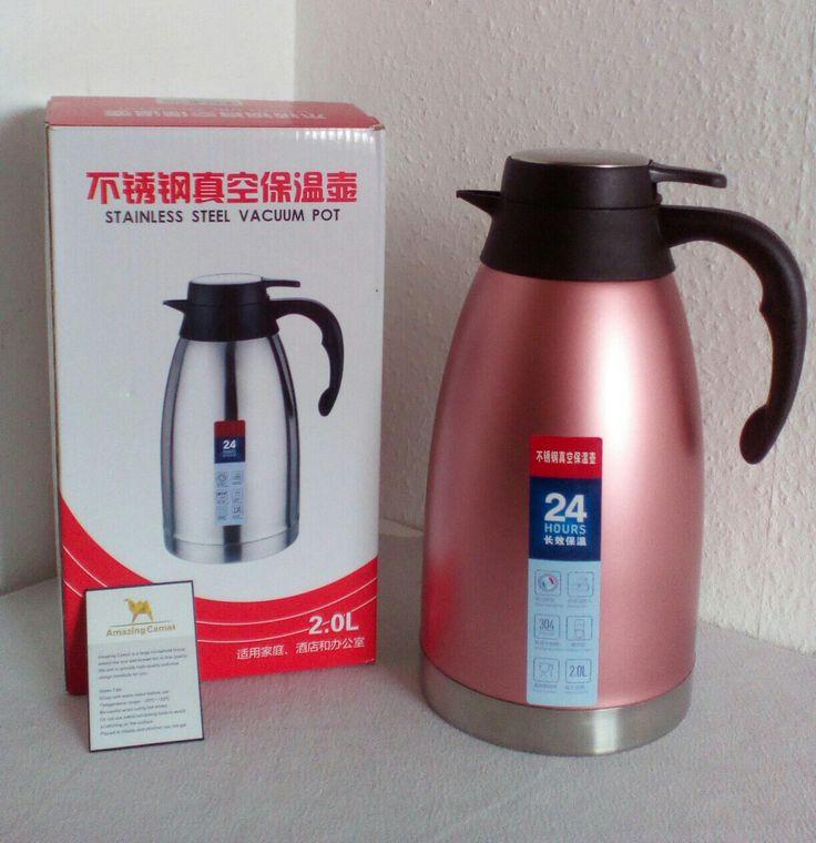 * Werbung * Zum Produkt: Die Edelstahl-Thermoskanne von Amazing Camel bietet mit ihrem 2 Liter Volumen ein großes Fassungsvermögen und hält Getränke zuverlässig lange heiß. Lieferumfang: 1 x Amazin…