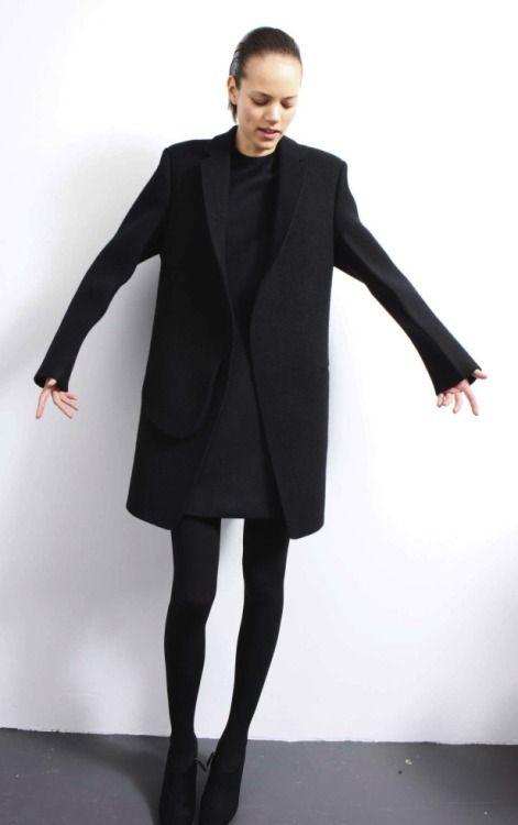 Freja in black-on-black #style #fashion #workstyle