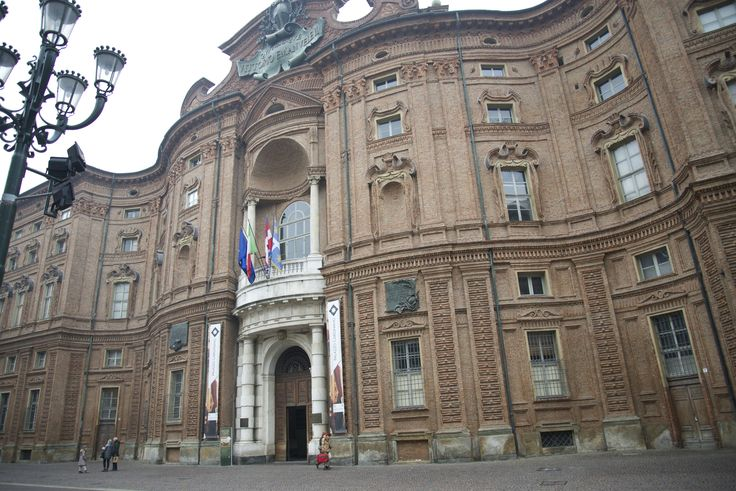 Palazzo #Carignano in #Turin was the first Italian #Parliament after Italy's unification in 1861. Turin was the capital of Italy from 1861 to 1863.