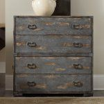 Hooker Furniture True Vintage 4 Drawer Accent Chest - Vintage is in the eye of the beholder. Though the Hooker Furniture True Vintage 4 Drawer Accent Chest is freshly made by Hooker's skilled craftsmen,...