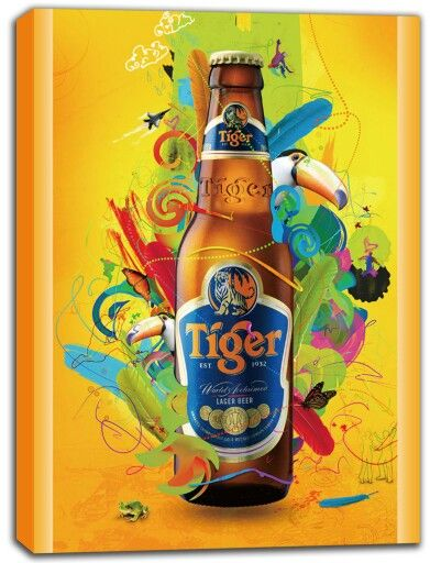Looking for a #refreshing #beer to get an early start on this #weekend? Celebrate your love of #Tiger beer with this colorful #canvas #print from http://www.wiredsigns.com/tiger-beer-canvas-print-wall-art! #tigerbeer #drinks #friends #relaxation #relax #social
