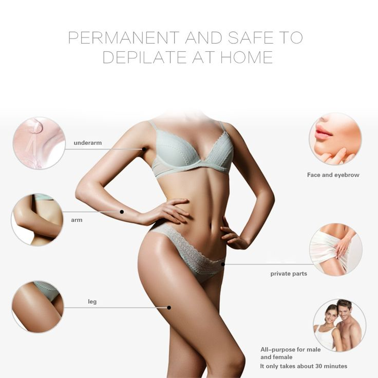 Mini Painless IPL Permanent Hair Removal Whole Body Laser Sales Online - Tomtop.com