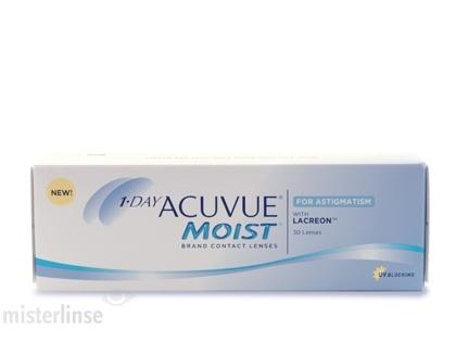 Die beliebten 1-Day Acuvue Tageslinsen gegen Hornhautverkrümmung günstig bestellen in unserem Kontaktlisen Onlineshop
