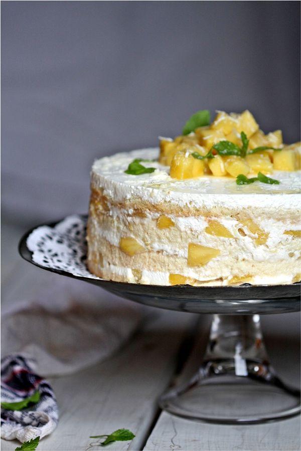 Mango Pastel de Tres Leches or Mango Three Milk Cake