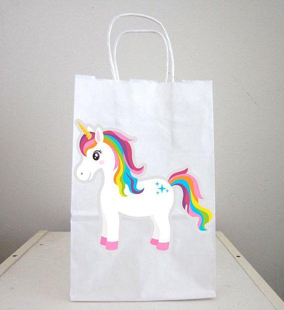 Unicorn Goody Bags Unicorn Party Bags Unicorn Favor Bags