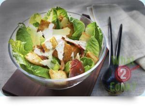 Chicken Caesar Salad, Birch & Waite Creamy Caesar Dressing | What2Cook