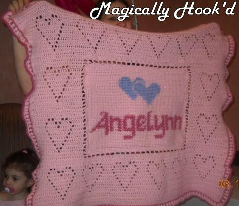 Personalize baby graphaghan