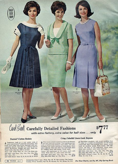I love that navy dress with the white collars and cuffs!