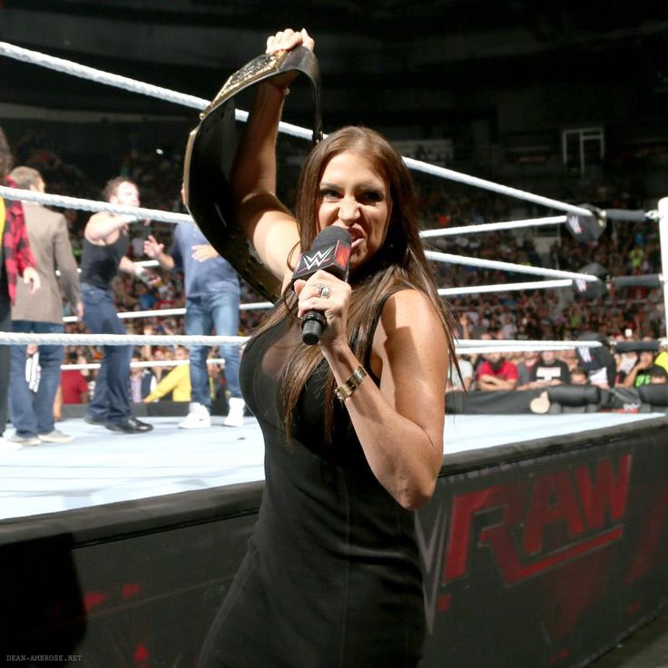 The gorgeous huge breasts of the raw commissioner Stephanie McMahon.