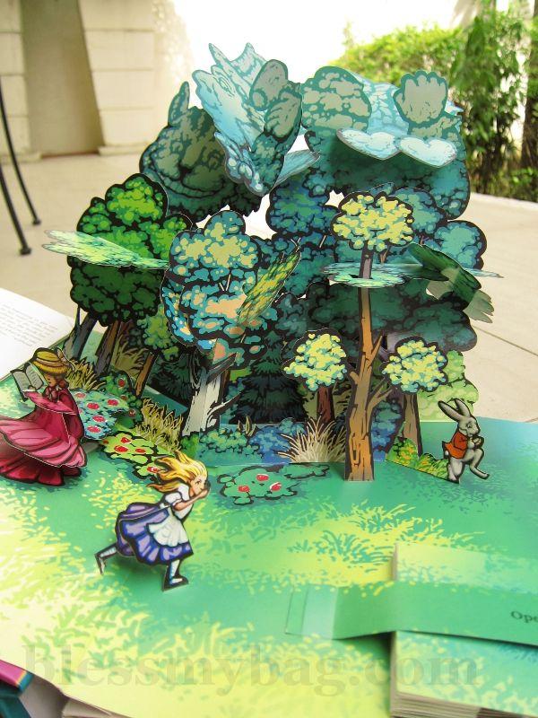 #Pop Up Books, Alice in Wonderland