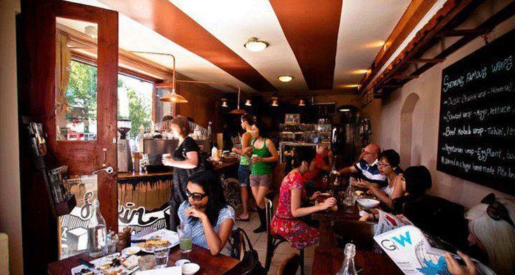 Check out Cafe Shenkin in Erskineville for Sydney's best shakshuka!